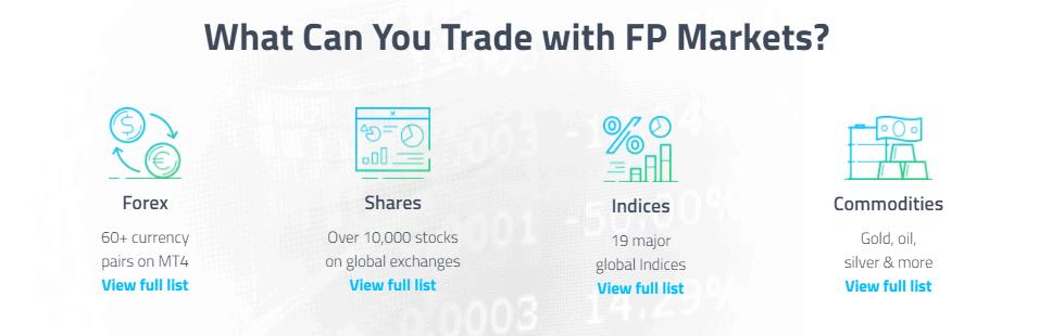 Strumenti FP Markets